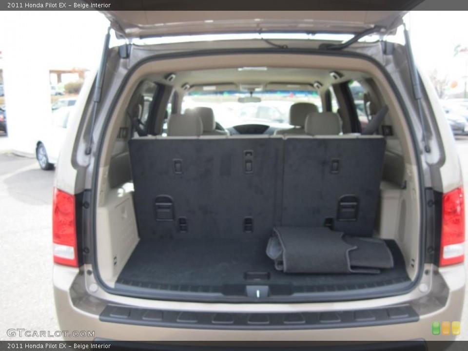Beige Interior Trunk for the 2011 Honda Pilot EX #41491707