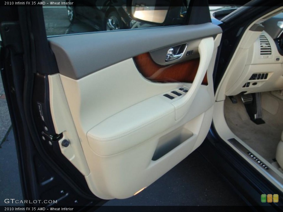 Wheat Interior Door Panel for the 2010 Infiniti FX 35 AWD #41605365