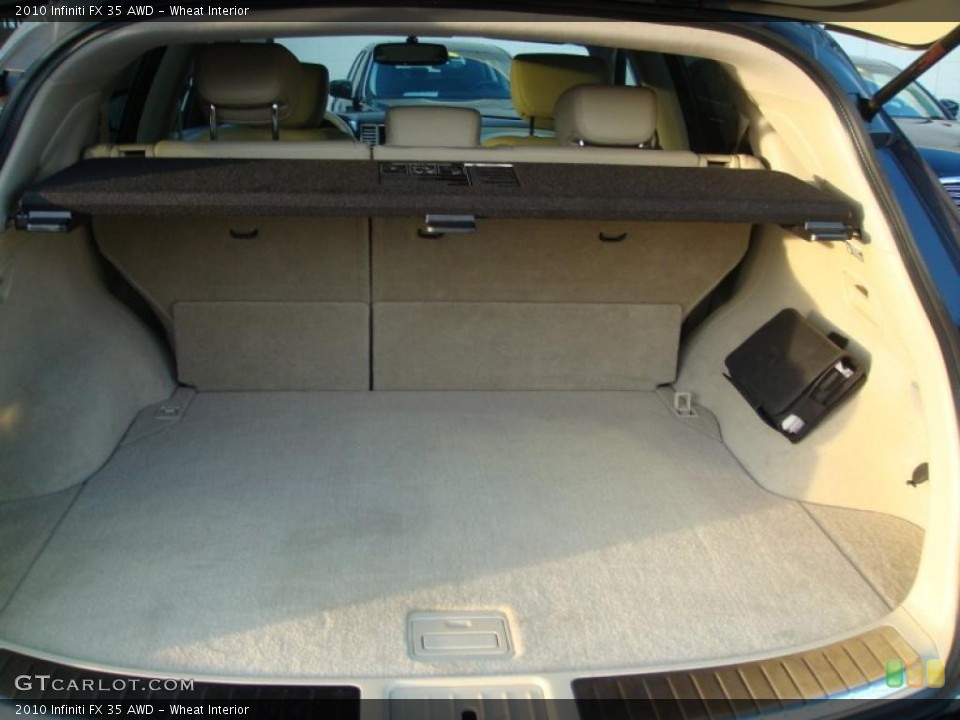 Wheat Interior Trunk for the 2010 Infiniti FX 35 AWD #41605525