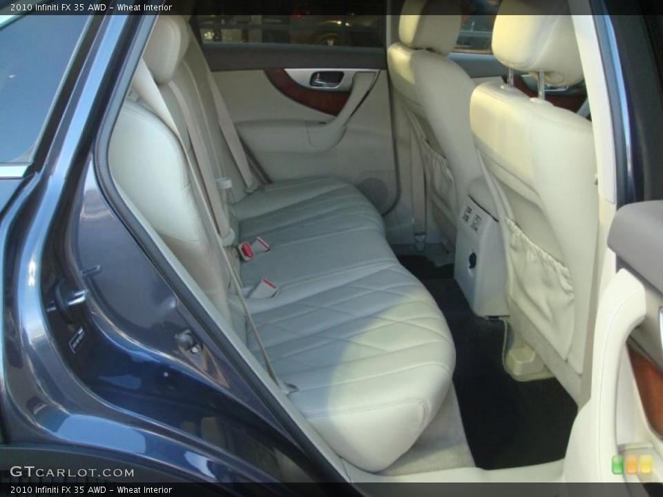 Wheat Interior Photo for the 2010 Infiniti FX 35 AWD #41605573