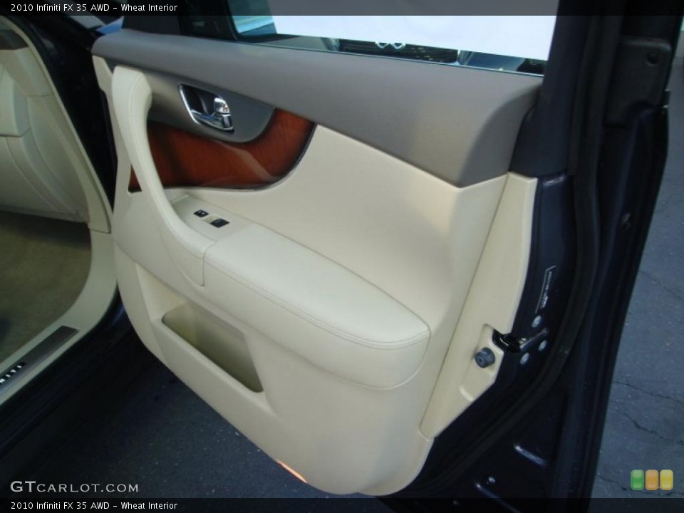 Wheat Interior Door Panel for the 2010 Infiniti FX 35 AWD #41605585