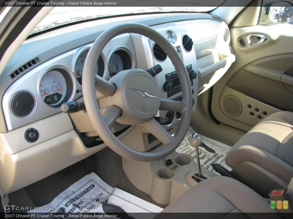 Pastel Pebble Beige 2007 Chrysler PT Cruiser Interiors