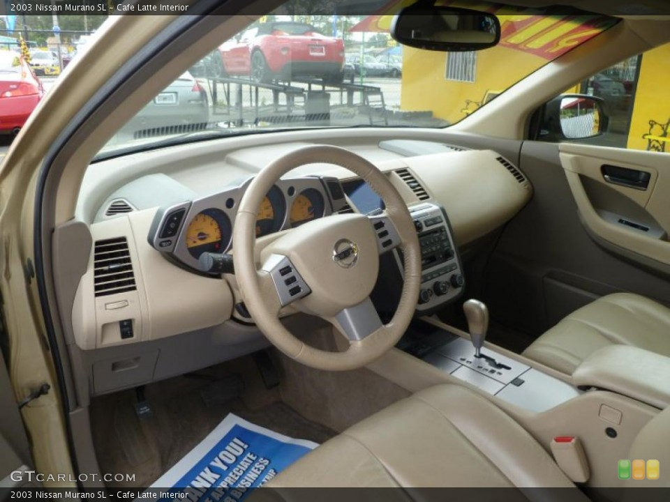 Cafe Latte 2003 Nissan Murano Interiors