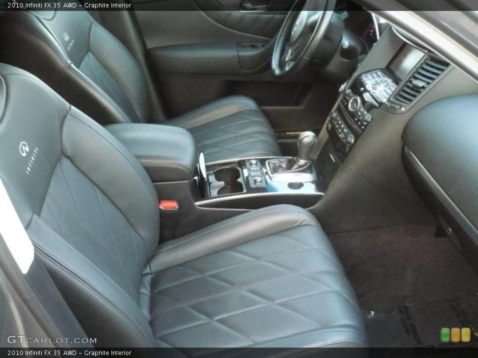 Graphite Interior Photo for the 2010 Infiniti FX 35 AWD #41771573