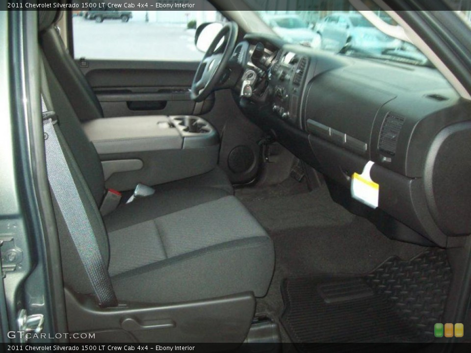 Ebony Interior Photo for the 2011 Chevrolet Silverado 1500 LT Crew Cab 4x4 #41864266