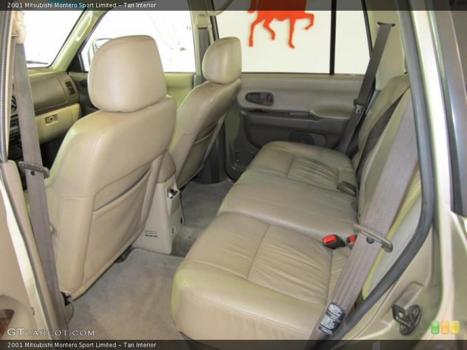 tan interior photo for the 2001 mitsubishi montero sport limited 41885027 - Mitsubishi Montero 2001 Interior