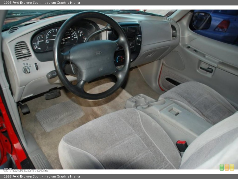 Medium Graphite Interior Prime Interior for the 1998 Ford Explorer Sport #41895592