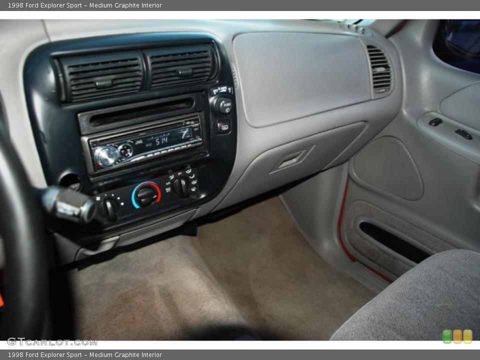 Medium Graphite Interior Dashboard for the 1998 Ford Explorer Sport #41895608