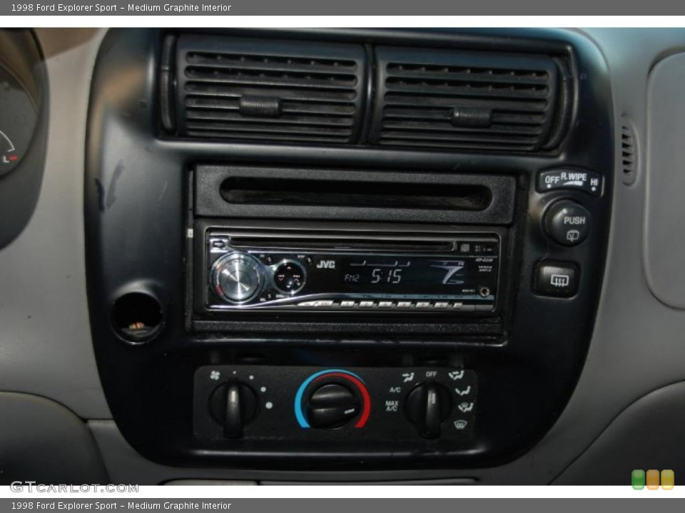 Medium Graphite Interior Controls for the 1998 Ford Explorer Sport #41895624
