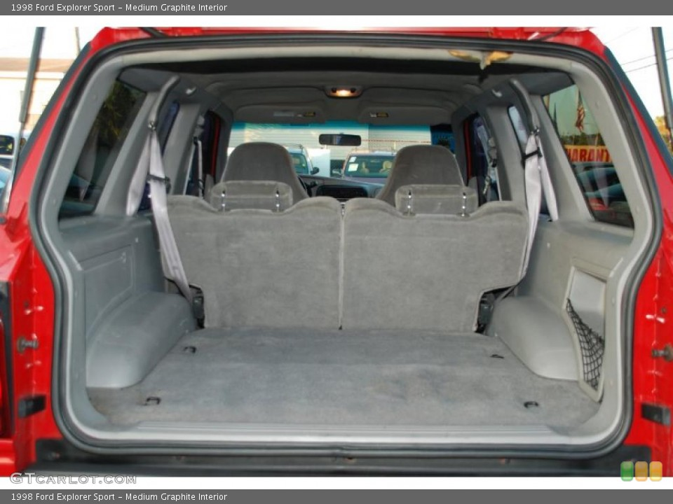 Medium Graphite Interior Trunk for the 1998 Ford Explorer Sport #41895744