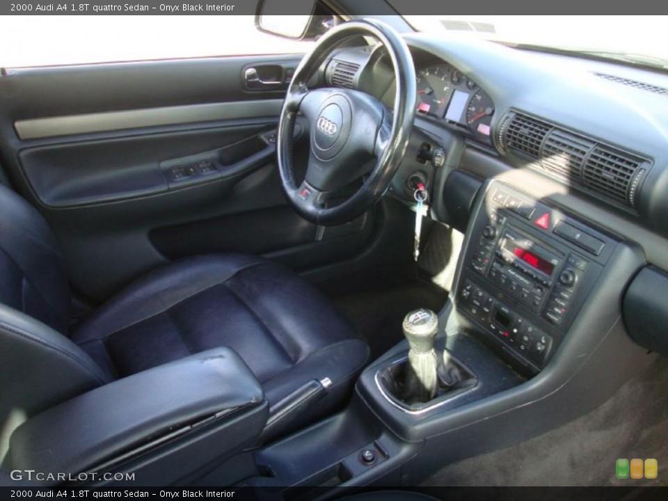 Onyx Black Interior Dashboard for the 2000 Audi A4 1.8T quattro Sedan #41897292 GTCarLot.com
