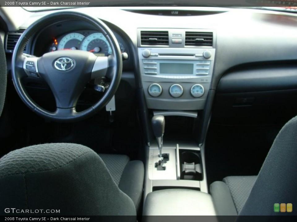 Dark Charcoal 2008 Toyota Camry Interiors