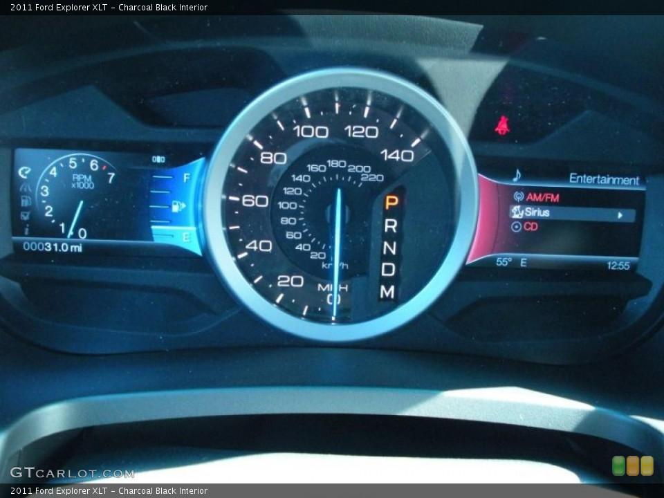 Charcoal Black Interior Gauges for the 2011 Ford Explorer XLT #41936150