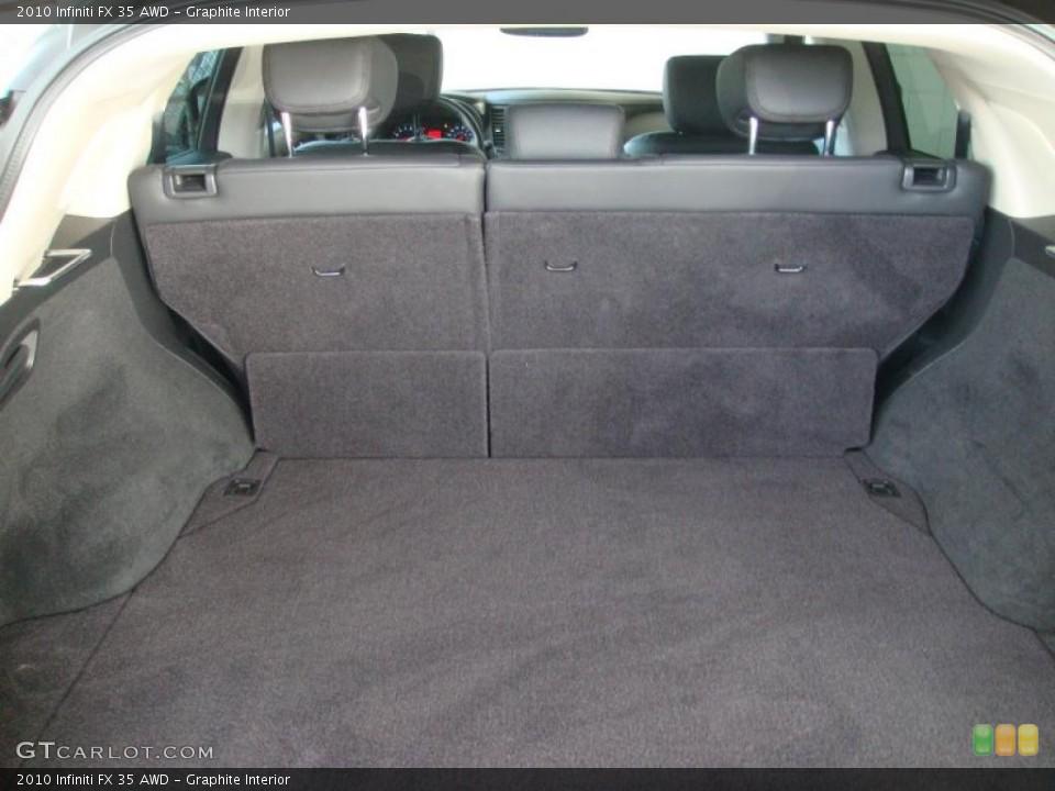 Graphite Interior Trunk for the 2010 Infiniti FX 35 AWD #42082707