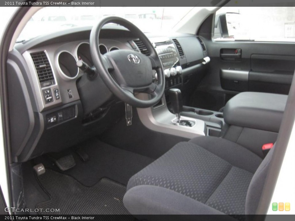 Black Interior Photo for the 2011 Toyota Tundra TSS CrewMax #42200103