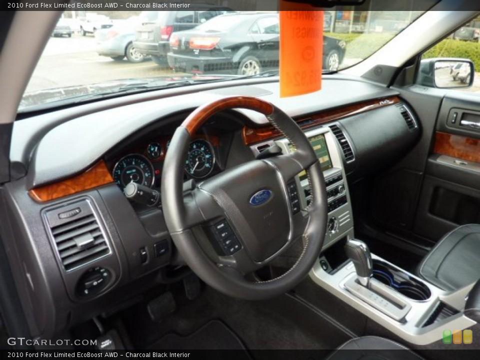 Charcoal Black 2010 Ford Flex Interiors