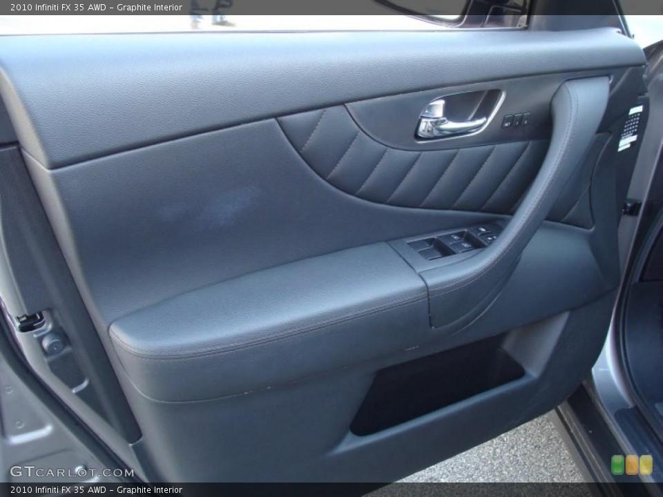 Graphite Interior Door Panel for the 2010 Infiniti FX 35 AWD #42385207