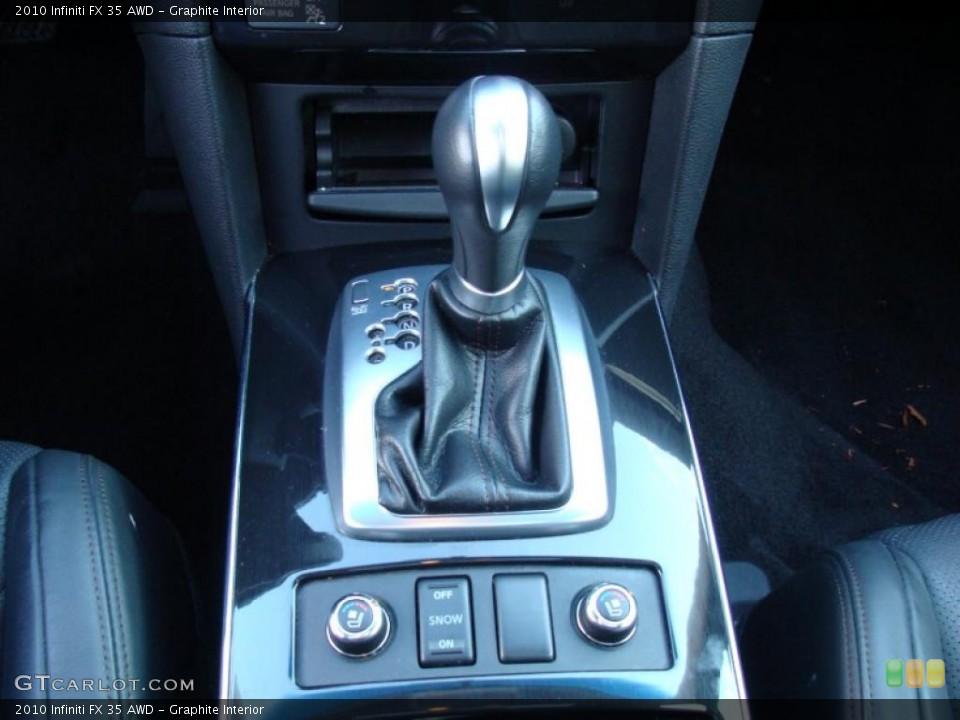 Graphite Interior Transmission for the 2010 Infiniti FX 35 AWD #42385271