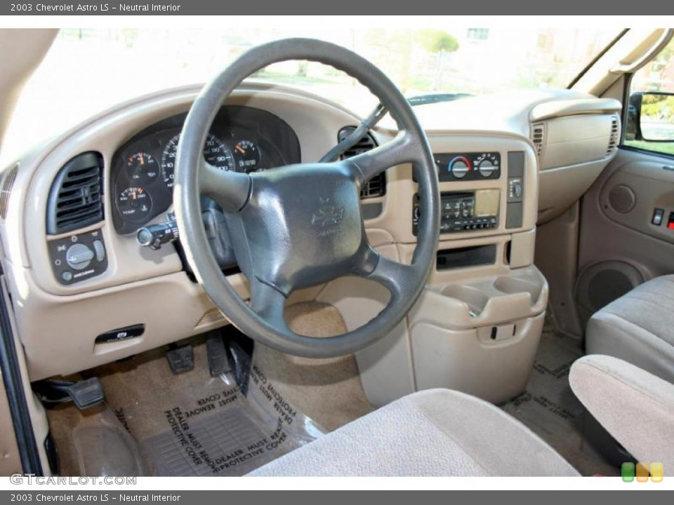 Neutral Interior Dashboard for the 2003 Chevrolet Astro LS #42484088