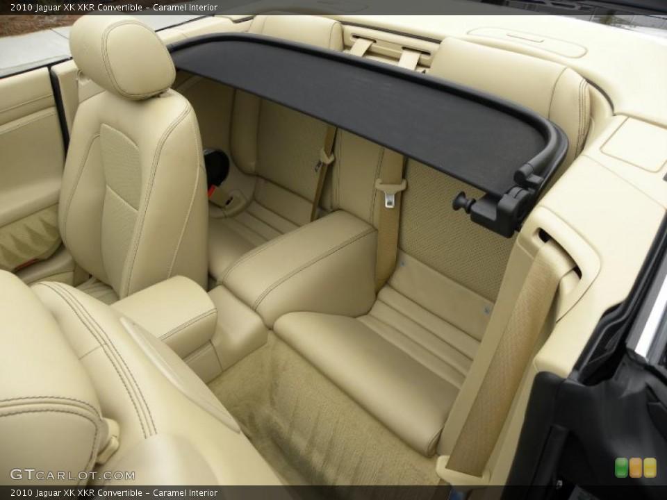 Caramel Interior Photo for the 2010 Jaguar XK XKR Convertible #42543669