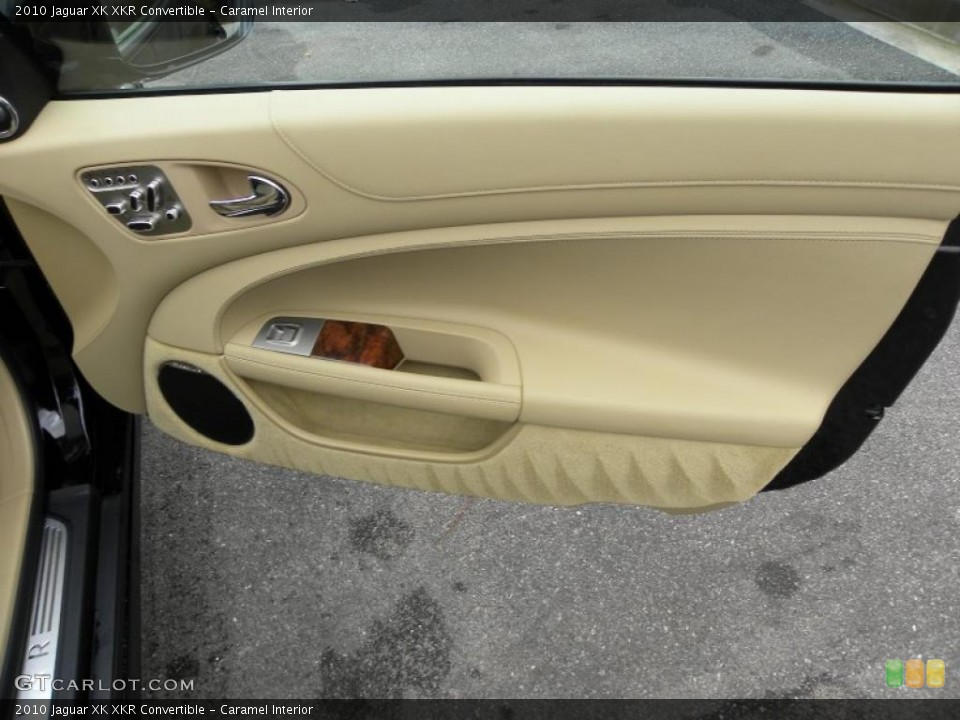 Caramel Interior Door Panel for the 2010 Jaguar XK XKR Convertible #42543701