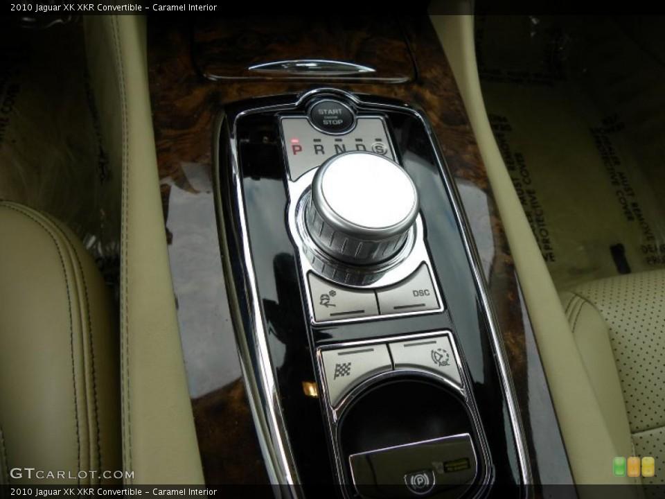 Caramel Interior Transmission for the 2010 Jaguar XK XKR Convertible #42543845