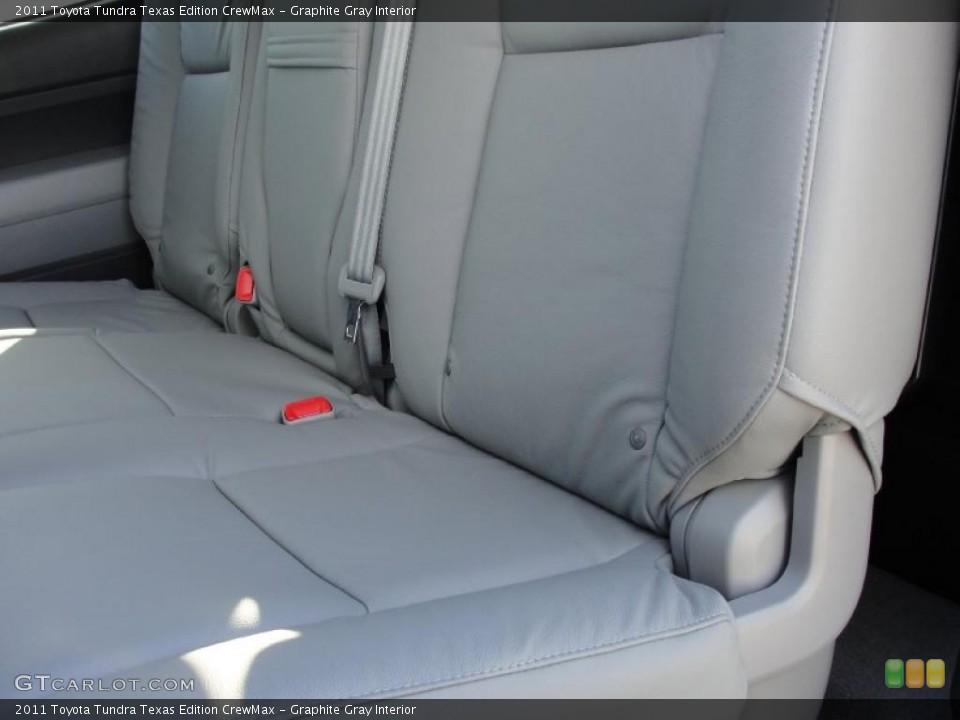 Graphite Gray Interior Photo for the 2011 Toyota Tundra Texas Edition CrewMax #42661036