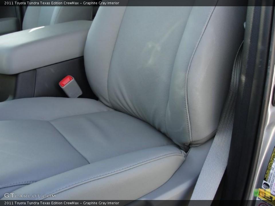 Graphite Gray Interior Photo for the 2011 Toyota Tundra Texas Edition CrewMax #42661075