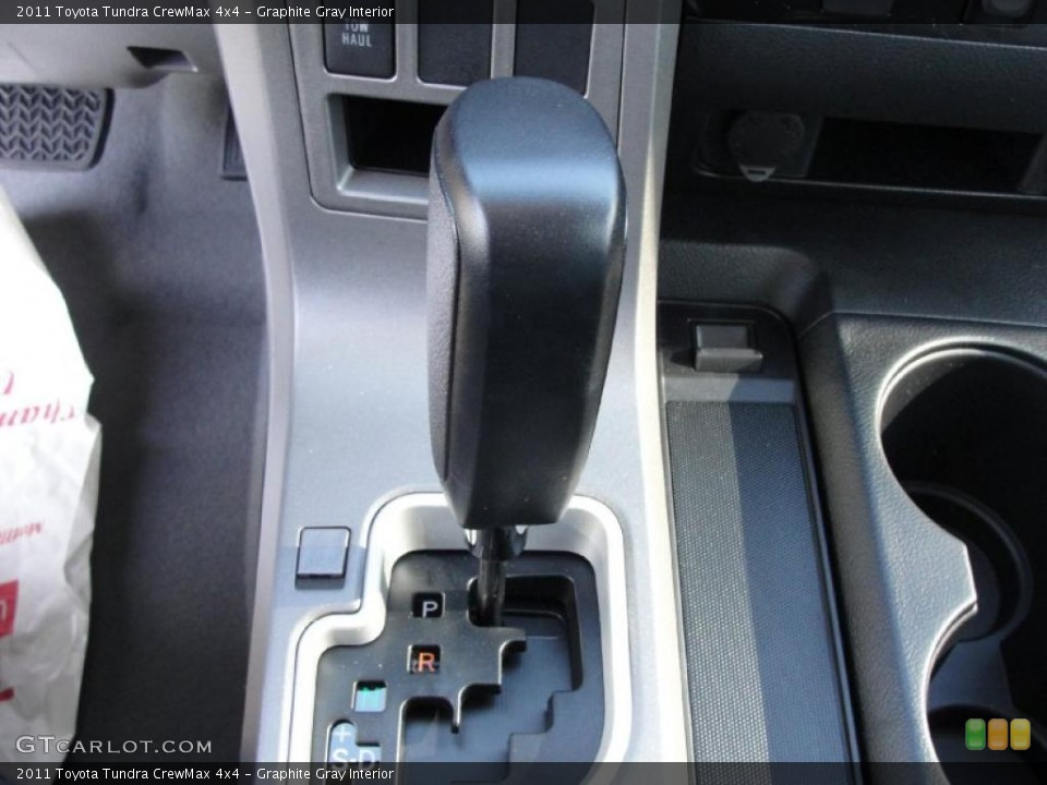 Graphite Gray Interior Transmission for the 2011 Toyota Tundra CrewMax 4x4 #42662392