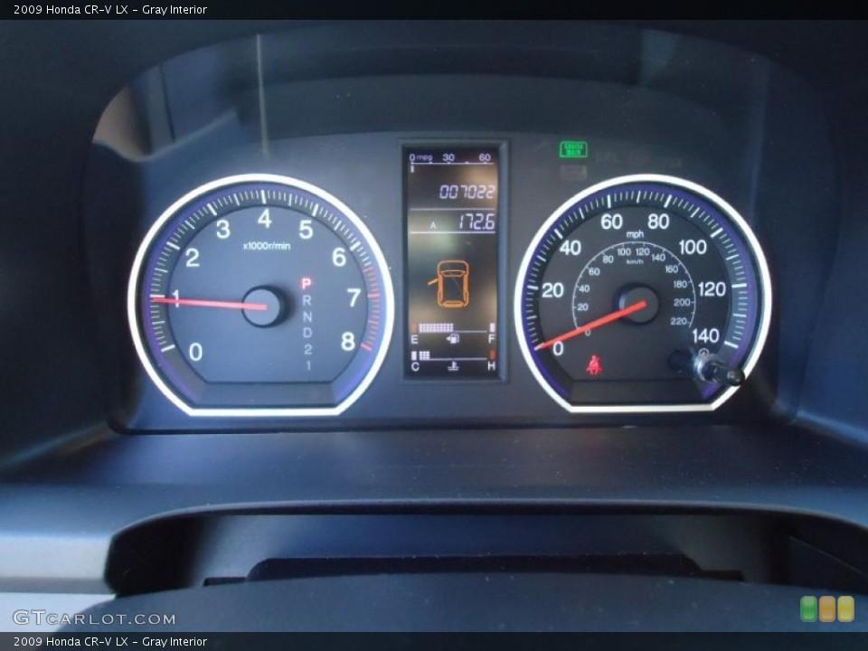 Gray Interior Gauges for the 2009 Honda CR-V LX #42699247