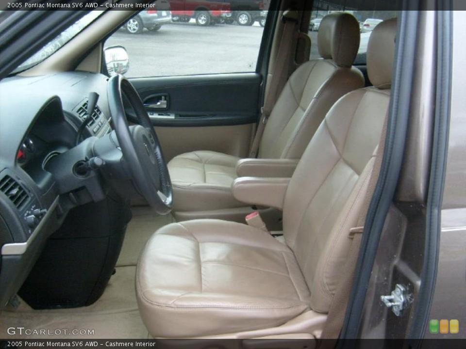 Cashmere Interior Photo for the 2005 Pontiac Montana SV6 AWD #42795245