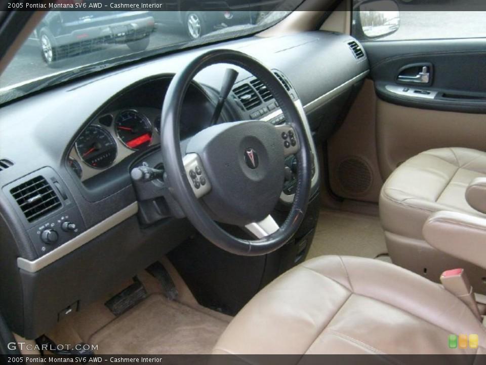Cashmere Interior Photo for the 2005 Pontiac Montana SV6 AWD #42795261