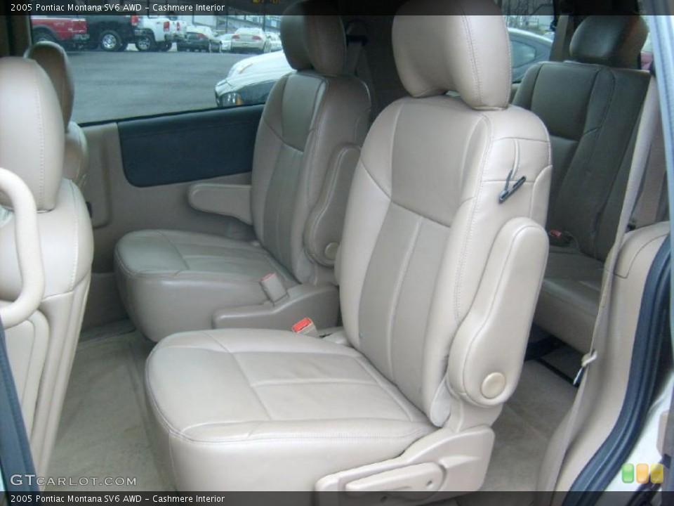 Cashmere Interior Photo for the 2005 Pontiac Montana SV6 AWD #42795285