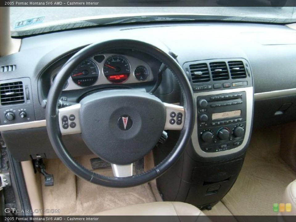 Cashmere Interior Prime Interior for the 2005 Pontiac Montana SV6 AWD #42795305