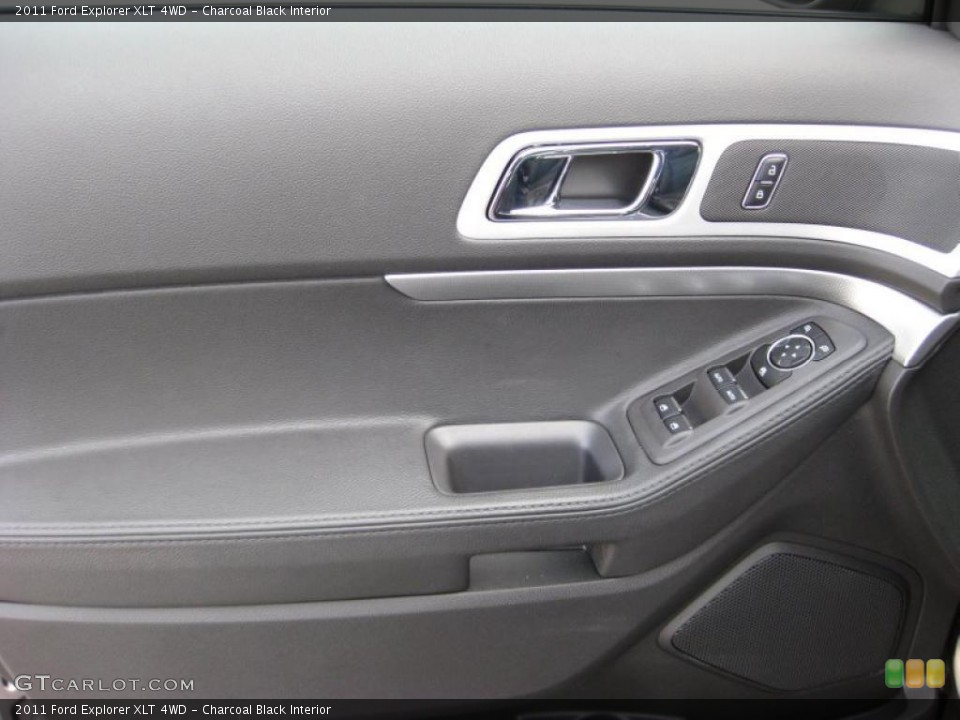 Charcoal Black Interior Door Panel for the 2011 Ford Explorer XLT 4WD #43173910