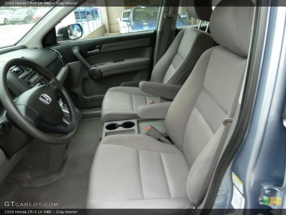 Gray Interior Photo for the 2009 Honda CR-V LX 4WD #43238412