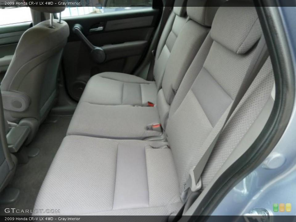 Gray Interior Photo for the 2009 Honda CR-V LX 4WD #43238424