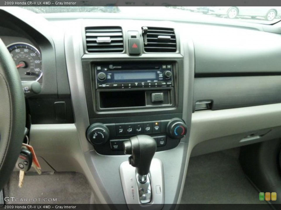 Gray Interior Dashboard for the 2009 Honda CR-V LX 4WD #43238440