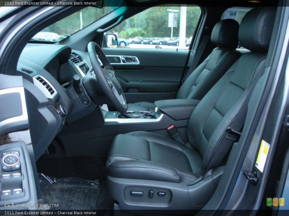 Charcoal Black Interior Photo for the 2011 Ford Explorer Limited #43257246