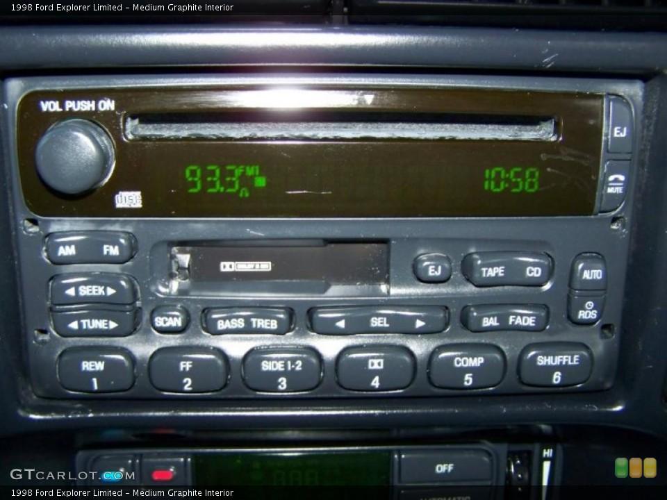 Medium Graphite Interior Controls for the 1998 Ford Explorer Limited #43278606