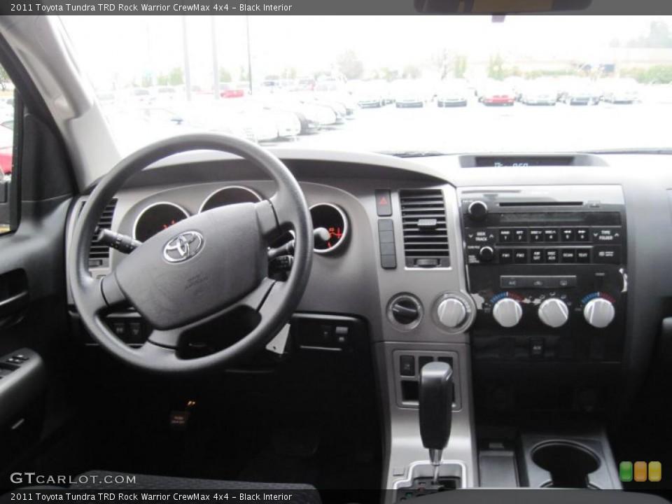 Black Interior Dashboard for the 2011 Toyota Tundra TRD Rock Warrior CrewMax 4x4 #43279226