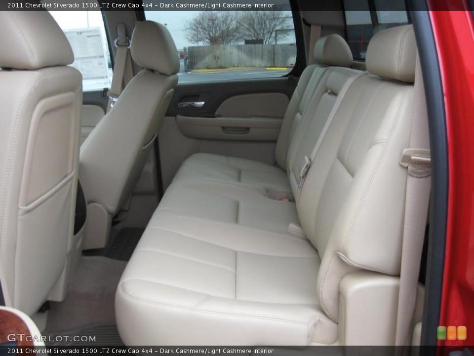 Dark Cashmere/Light Cashmere Interior Photo for the 2011 Chevrolet Silverado 1500 LTZ Crew Cab 4x4 #43287148