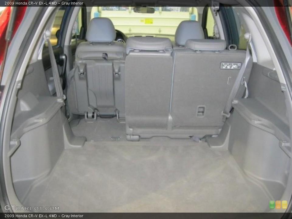 Gray Interior Trunk for the 2009 Honda CR-V EX-L 4WD #43348299