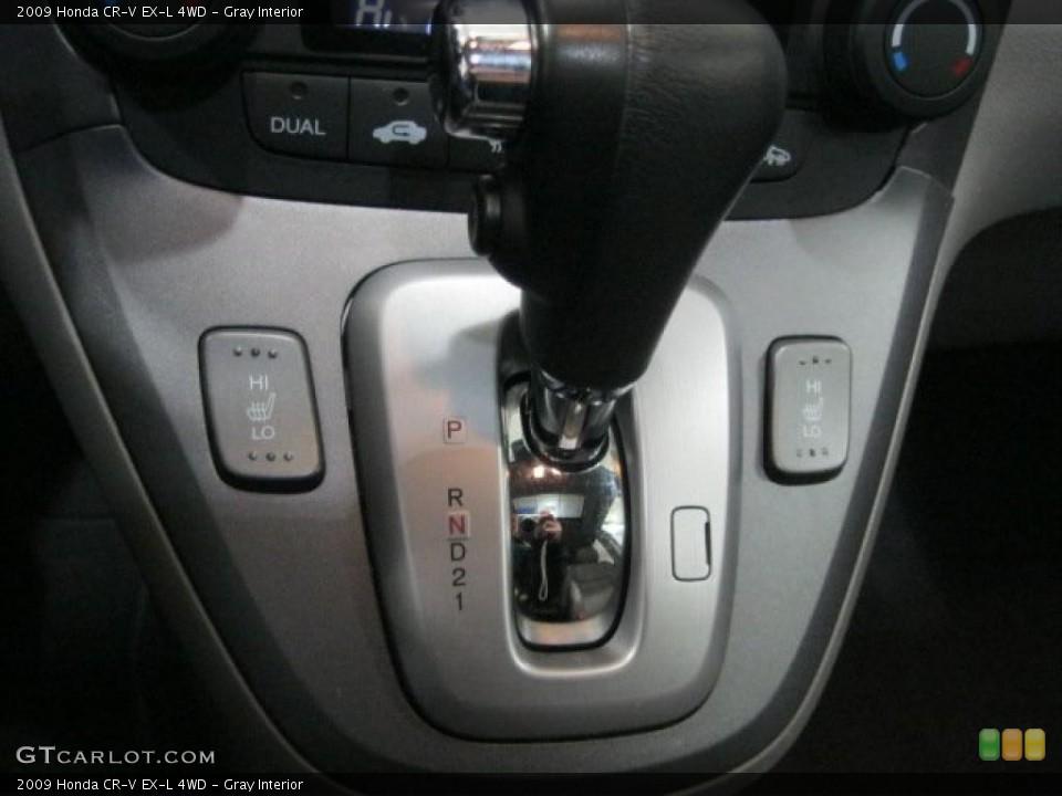 Gray Interior Transmission for the 2009 Honda CR-V EX-L 4WD #43348495