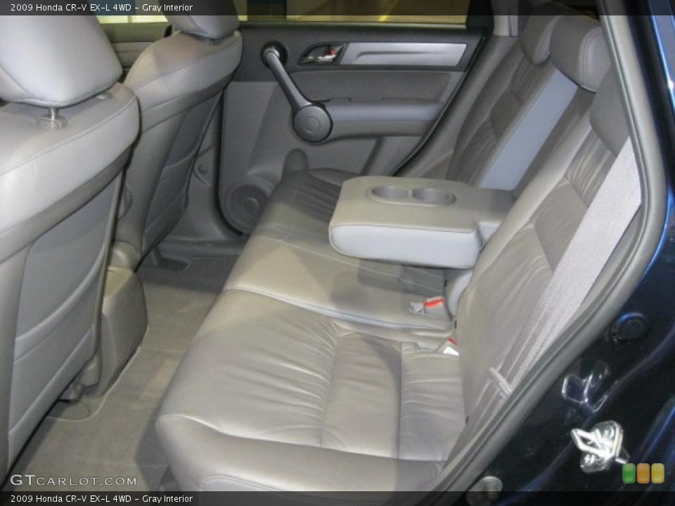 Gray Interior Photo for the 2009 Honda CR-V EX-L 4WD #43348547