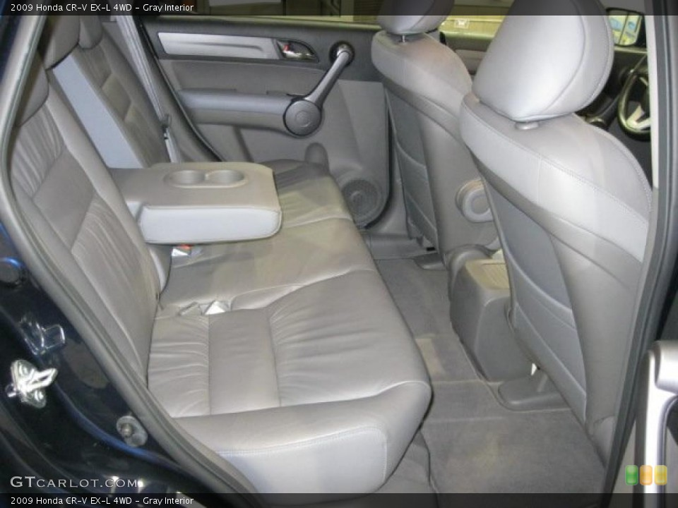 Gray Interior Photo for the 2009 Honda CR-V EX-L 4WD #43348563