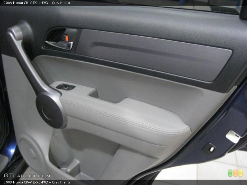 Gray Interior Door Panel for the 2009 Honda CR-V EX-L 4WD #43348579