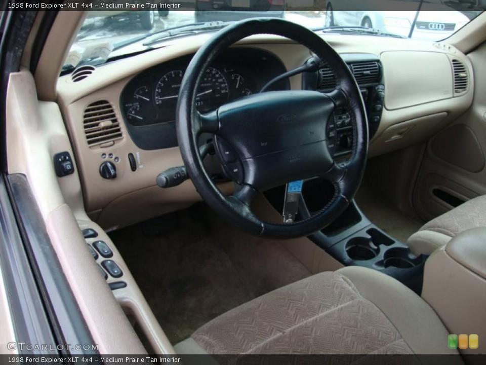 Medium Prairie Tan 1998 Ford Explorer Interiors