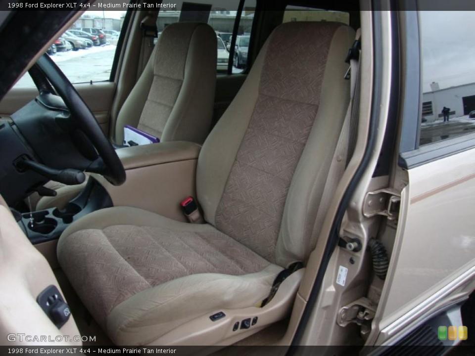 Medium Prairie Tan Interior Photo for the 1998 Ford Explorer XLT 4x4 #43370452