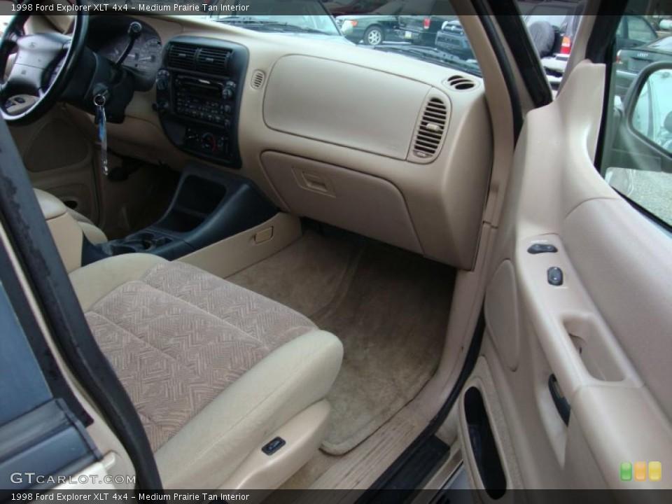 Medium Prairie Tan Interior Dashboard for the 1998 Ford Explorer XLT 4x4 #43370464